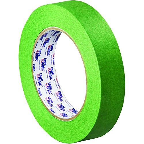 Tape Logic TLT935320012PK 3200 Painter's Tape, 5.0 Mil, 1'' x 60 yds., Green, 12/Case by Tape Logic