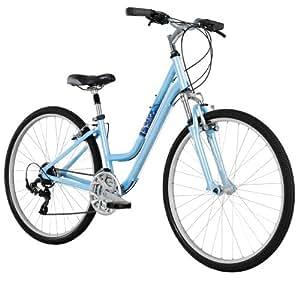 Diamondback Bicycles 2014 Vital Two Women's Sport Hybrid Bike (700cm Wheels), 15-Inch, Blue