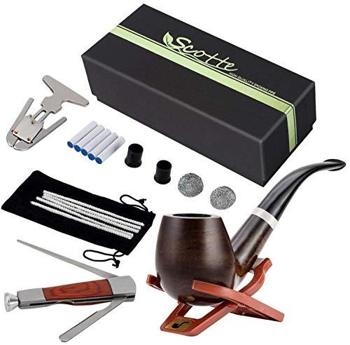 Scotte Tobacco Pipe Handmade Pear Wood Root Smoking