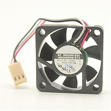 Evercool 35mm x 35mm x 10mm 5V  EL Bearing Cooling Fan EC3510M05E