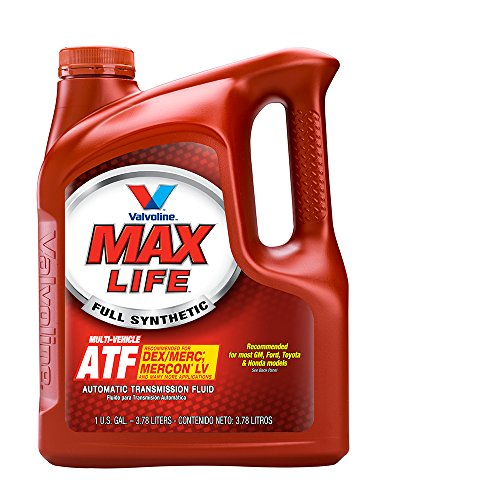 Valvoline MaxLife Full Synthetic Multi-Vehicle Automatic Transmission Fluid - 1gal (Case of 3) (773775-3PK)