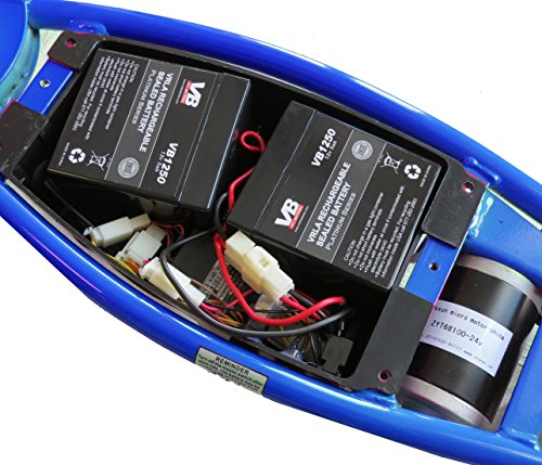 razor scooter battery 4 5ah  20hr w  reset wires for razor