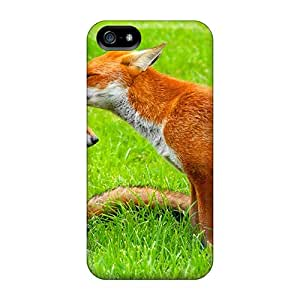 Hot Fox Kiss First Grade Tpu Phone Case For Iphone 5/5s Case Cover