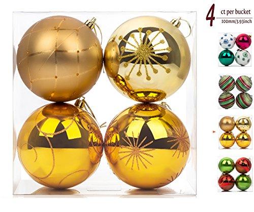 4 Pack Ornament Set - 6
