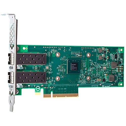 Qlogic Dual Port 10gbe Sfp+ Pcie Adapter (l2+roce+iwarp) by QLogic