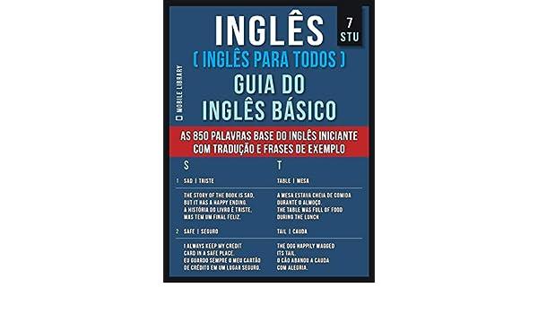 7 Stu Inglês Inglês Para Todos Guia Do Inglês Básico