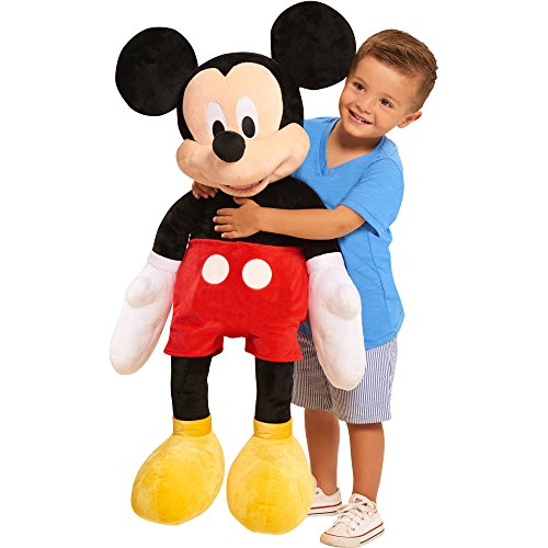 [NEW! Disney Mickey Mouse Life Size 40 Inch Giant Soft Plush Stuff Toys for Kids] (Bowser Costume For Dog)