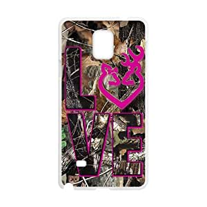 SKULL Love Fashion Comstom Plastic case cover For Samsung Galaxy Note4 hjbrhga1544