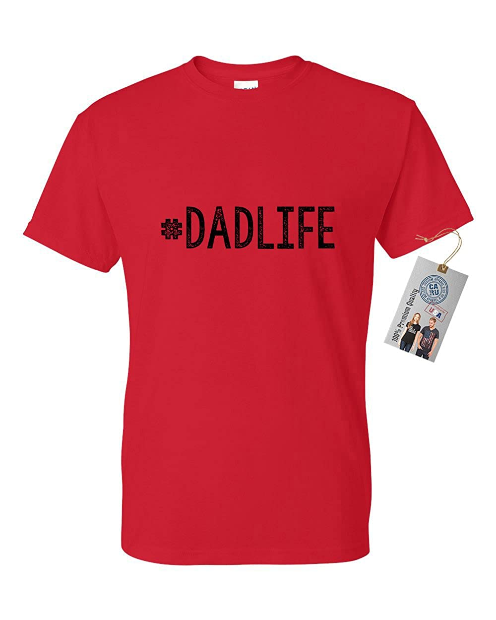 0c372b1f Amazon.com: #Dadlife Dad Gifts Fathers Day Mens Short Sleeve T-Shirt:  Clothing