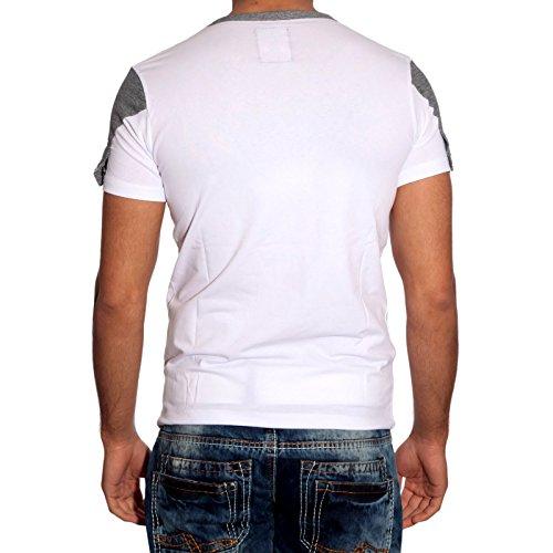 T-Shirt Poloshirt Shirt für Herren Männer Jungs Jungen A16661RN