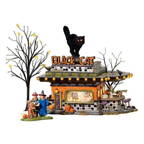 (Halloween Black Cat Diner)