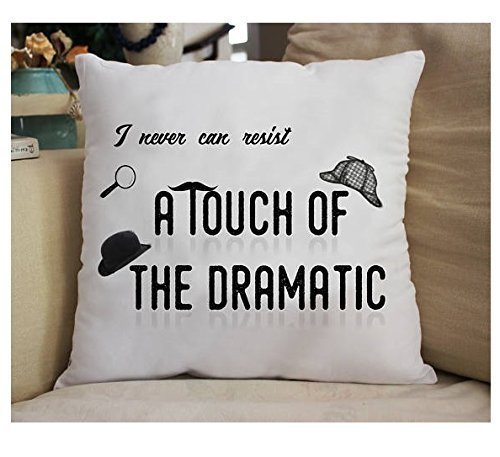 A Touch of the Dramatic Throw Pillow Cover Great Gift - Church Bookends