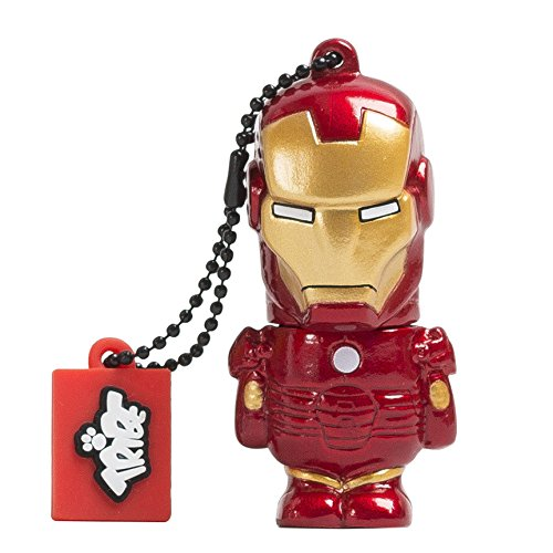 Tribe Marvel The Avengers Pendrive Figure 16GB USB Flash Drive 2.0 Memory Stick Data Storage - Iron Man (FD016504)