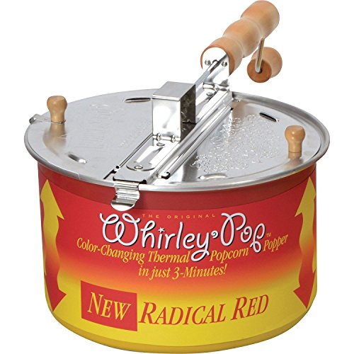 Wabash Valley Farms Color Changing Whirley-Pop with Real Theater All-Inclusive Popping Kit
