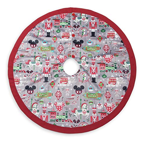 Disney Parks Santa Mickey Mouse and Friends Holiday Christmas Tree Skirt