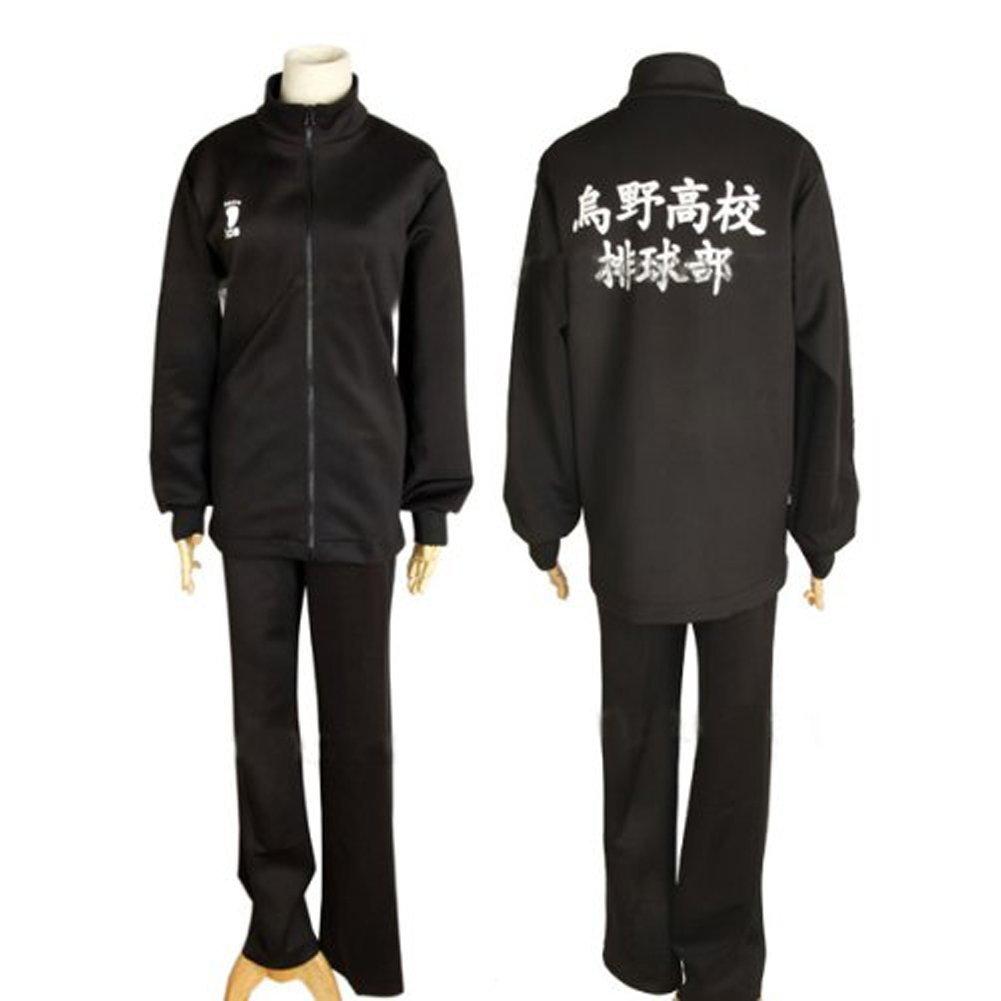 perfecto Ruleronline Ruleronline Ruleronline Haiky  Karasuno la escuela secundaria Haikyu parte Hinata Shoyo Karasuno camiseta de manga larga de la escuela secundaria uniforme Karasuno cosplay uniforme del tamaño del traje S  100% garantía genuina de contador