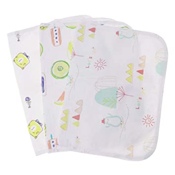 Amazon.com: SUPVOX 3pcs 2 Layers Baby Changing Pad Diaper ...