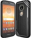 Moto E5 Play Case, Moto E5 Cruise Case,Suensan TPU Shock Absorption Technology Raised Bezels Protective Case Cover for Motorola Moto E5 Play 2018 (New Black)