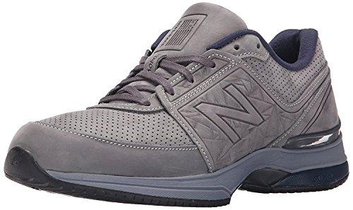 New Balance Mens M2040v3 Running Shoe, Gris/Azul Marino, 40.5 2E EU/7 2E UK