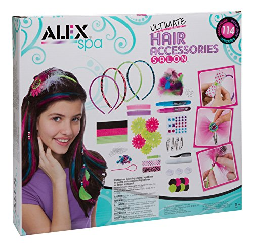 Alex Spa Ultimate Hair Accessories Salon Girls Fashion Activity