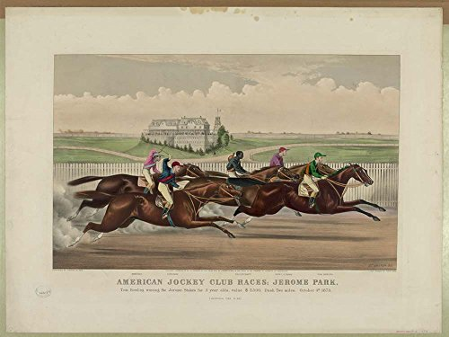 - Historic Photos American Jockey Club Races; Jerome Park: Tom Bowling Winning the Jerome Stakes for 3 Year Olds, Value $5,500; Dash Two Miles; October 4th 1873. (Un-official Time 3:40)