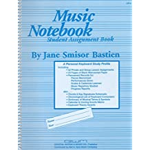 GP16 - Music Notebook Student Assignment Book