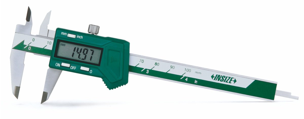 INSIZE 1111-100A Mini Electronic Caliper, 0-4''/0-100 mm