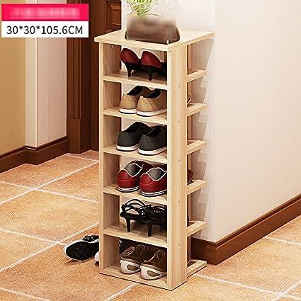 Shoe rack Zapatero, Sencillo Moderno Zapatero Múltiples Capas Casa Caja de Zapatos Economía Sencillo Zapatos