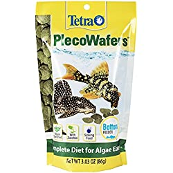 TetraVeggie Algae Wafers Balanced Diet for Algae Eaters