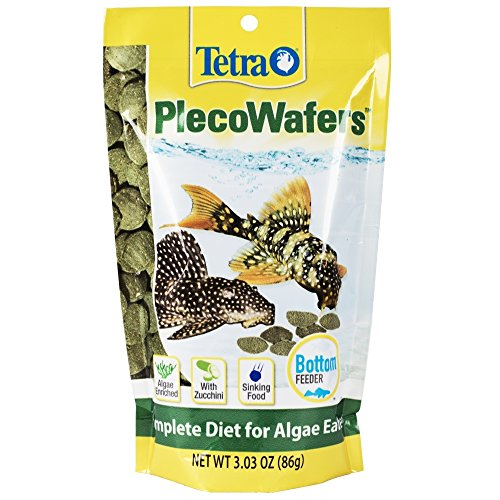 TetraVeggie Algae Wafers Balanced Diet for Algae Eaters (Sinking Wafers)