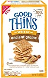 Good Thins: The Wheat One – Ancient Grains Crackers, 7.5 Ounce, (Pack of 6) Review