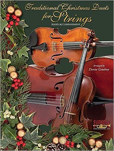 Christmas Violin.Traditional Christmas Duets For Strings Piano