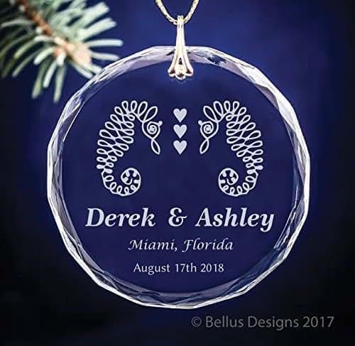 Amazon.com: Seahorse Christmas Ornament - Gift for ...