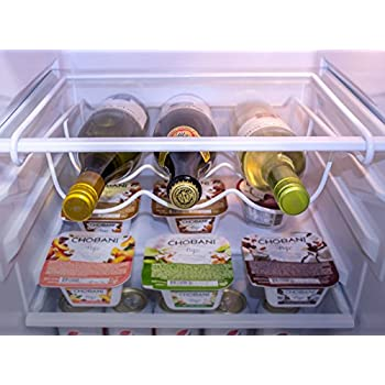 Amazon Com Sorbus 174 Fridge Wine Rack Refrigerator Bottle