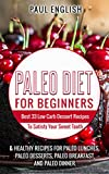 Paleo: Paleo Diet for beginners: Best 33 Low Carb Dessert Recipes To Satisfy Your Sweet Tooth & Healthy Recipes for Paleo Lunches, Paleo Desserts, Paleo … Healthy Books, Paleo Slow Cooker Book 9)