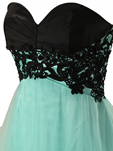 Fanciest Cocktail Homecoming Dress Blue Royal Kurz Dresses Women' Spitzen Abendkleid 2016 OqxZOprw