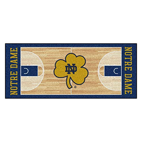 Fan Mats University of Notre Dame Basketball Court Runner