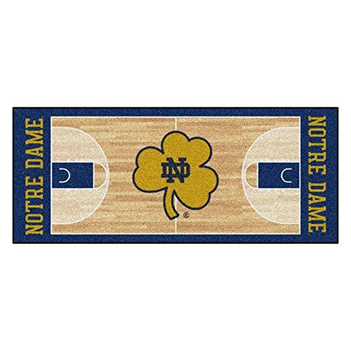 - Fan Mats University of Notre Dame Basketball Court Runner