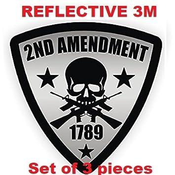 Tres (3) mejor vendedor 2 nd enmienda | reflectante 3 m | soldador casco