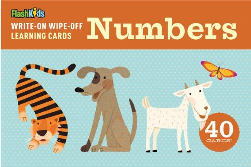 Write Wipe Off Learning Cards Numbers