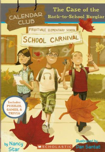 The Case of the Back-to-School Burglar (Calendar Club) ebook