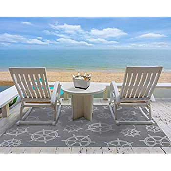 Amazon Com Gertmenian 21627 Nautical Tropical Carpet