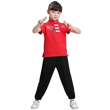 Amazon.com: bozevon Unisex niños niñas niños manga corta de ...