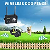 Best Dog Invisible Fences - JIEYUAN Wireless Dog Fence Pet Containment System, Safe Review