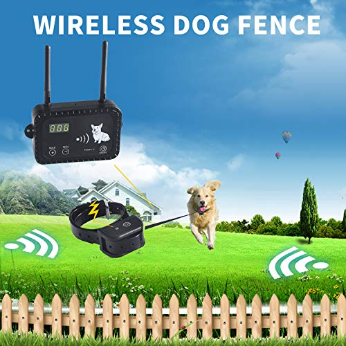 JIEYUAN Wireless Dog Fence Pet Containment System