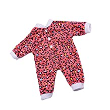 MagiDeal Trendy Cute Doll Jumpsuit Playsuit Pajamas Outfit for 18'' American Girl AG Doll/ Journey/My Life Doll Clothes ACCS