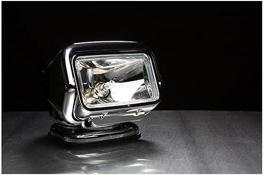 White Golight Stryker Searchlight 12V w//Wireless Handheld Remote