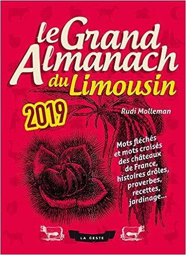 Le Grand Almanach du Limousin 2019