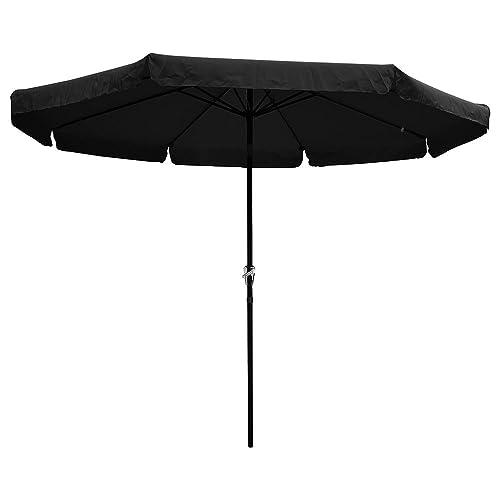 Black Patio Umbrellas: Amazon.com