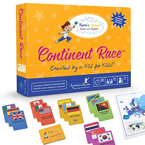 - Board Games for Kids 7 and Up - Educational Games for Families and Kids - Fun, Interactive Geography Games for The Whole Family - Cards Included